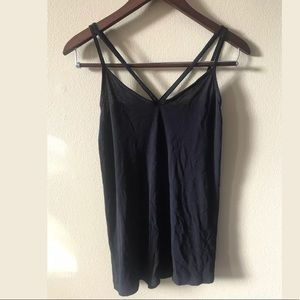 New ASOS Strappy Black tank top us size 4